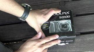 Nikon Coolpix S9100 12 MP digital camera Unboxing and Hands on ( Full HD )