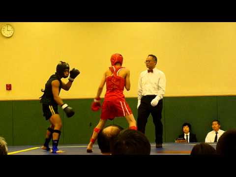 SanShou 65KG Hong Kong (Black) vs Taiwan (Red) Image 1