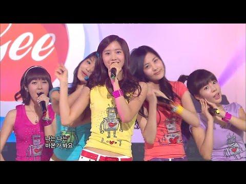 【TVPP】SNSD - Gee, 소녀시대 - 지 @ Show Music Core Live