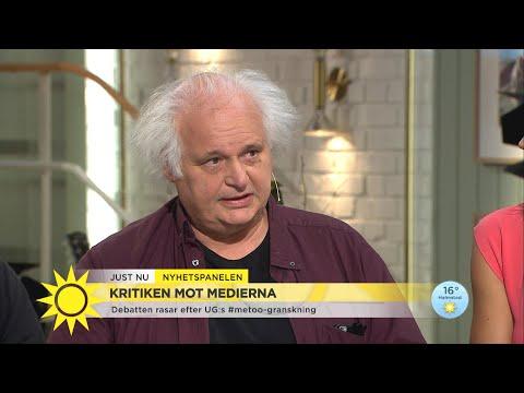 """Efter metoo """"Viktigt att se hur media kan slå sönder ett liv"""" - Nyhetsmorgon (TV4)"""