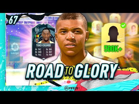 FIFA 20 ROAD TO GLORY #67 - NEW 500K PLAYER!!
