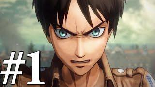 Hiç Fena Değil! - Attack on Titan: Wings of Freedom #1