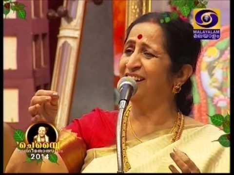 Chembai 2014 Guruvayur Aruna Sairam 02 Sahana Vandanamu Raghunandana
