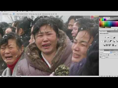 North Korean Photoshop Tutorial video