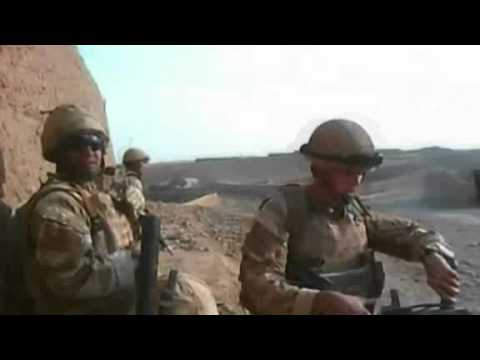 Sudden attack on British soldiers in Afghanistan