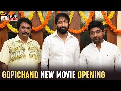 Gopichand New Movie Opening   Thiru   Vishal Chandrasekhar   2019 Tollywood Updates   Telugu Cinema