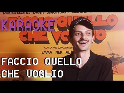 FACCIO QUELLO CHE VOGLIO - Fabio Rovazzi ( Base Karaoke )