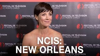 NCIS: New Orleans: Zoe McLellan 'I was scared of the guns!'