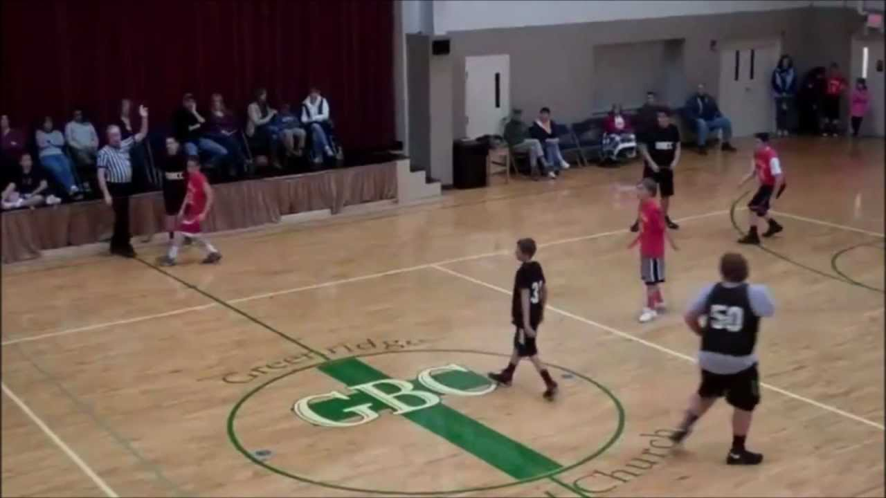 Fat Kid Makes Behind Back/Half Court/Buzzer Beater Shot Of ...