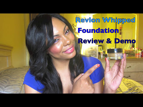 Review: NEW Revlon ColorStay Whipped Foundation + Demo (340 Caramel)