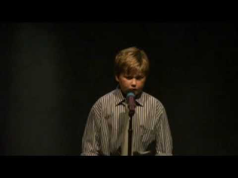 William Rudkin singing I dreamed a dream - Les Miserables