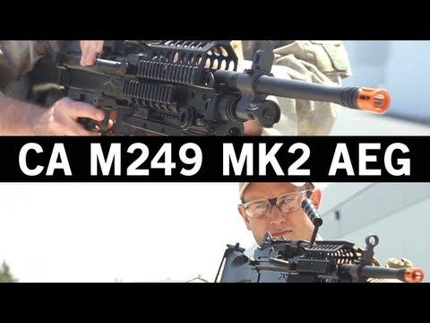 Airsoft GI - Classic Army M249 MK2 Squad Automatic Weapon AEG Gun Review