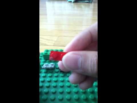 How to make a Lego melon-pult from Plants vs zombies