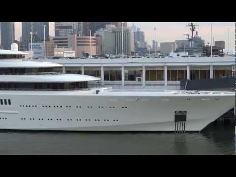 Яхта Абрамовича в Нью-Йорке, Roman Abramovich Yacht Eclipse in NYC