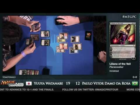 2012 Players Championship Semifinals: Yuuya Watanabe vs. Paulo Vitor Damo da Rosa