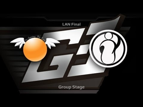 G1 League LAN Final  Groupstage  Orange vs iG