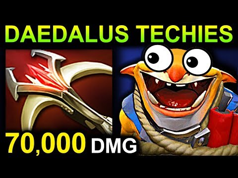 DAEDALUS TECHIES - DOTA 2 PATCH 7.07 NEW META PRO GAMEPLAY