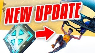 NEW LAUNCH PAD UPDATE & 5+ WINSTREAK - Fortnite Battle Royale
