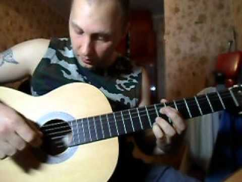 """Как играть на гитаре песню В.Цоя""""Апрель"""""""