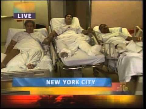 9/11 WTC Survivors Arthur del Bianco, Marlene Cruz, Hursley Lever