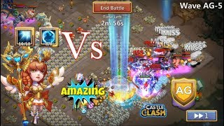Athene Vs HBM AG CRAZY HERO! Castle Clash