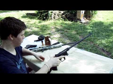 Henry US 22 Cal Semi-Auto AR-7 Survival Rifle - Assembly and Firing