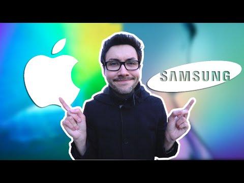 Apple VS Samsung : Quelle est ma préférence ?