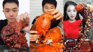 EATING SHOW COMPILATION - CHINESE FOOD - #ASMR - COMIDAS CHINESAS ESTRANHAS E EXÓTICAS #31