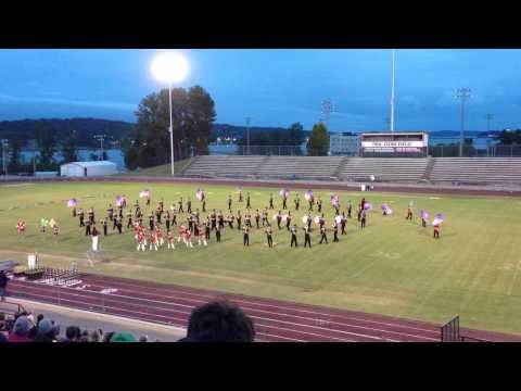 Sardis High School Marching Band at Lake Guntersville Marching Band Competition 2012