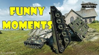 World of Tanks - Funny Moments | Week 4 October 2017
