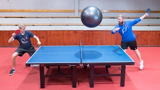 Ping Pong with a Gigantic Ball