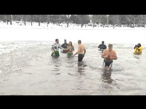 2015 Polar Plunge preview on WHO Channel 13 News at Noon on 11/5/15