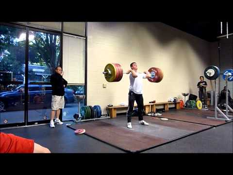 Hysen Pulaku 166kg Snatch; 208kg and 211kg Clean and Jerk Image 1