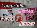 Comprinhas Marisa,Pontal,Renner Liquidação