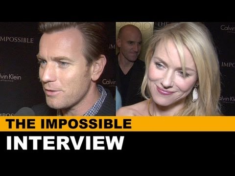 The Impossible 2012 Interview - Naomi Watts, Ewan McGregor, JA Bayona : Beyond The Trailer