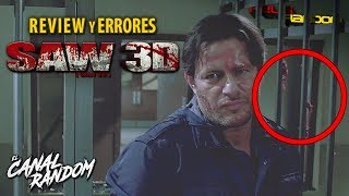 Errores de películas Saw 7 Review Crítica y Resumen WTF PQC SAW 3D