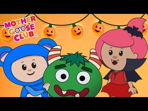 Halloween | A Haunted House on Halloween Night | Mother Goose Club Halloween Songs for Kids