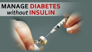 Manage Diabetes without Insulin - Dr. Biswaroop Roy Chowdhury - Tell Me Doctor