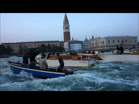 George Clooney Wedding Watch in Venice lagoon and down the Grand Canal.