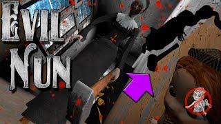 Обновление Evil Nun 1.1.4! Полное прохождение Evil Nun! Злая монашка прошли игру!