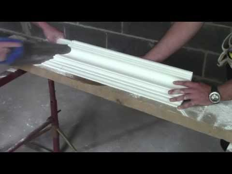 Plaster Coving Tip - How To Cut An External Mitre