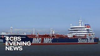 Iran seized 2 British tankers in the Strait of Hormuz