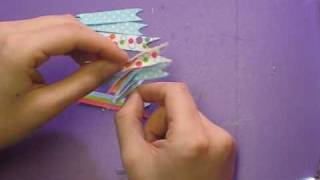 Pinwheel Bows on an Elastic or Headband