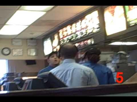 Angry McDonald's Man