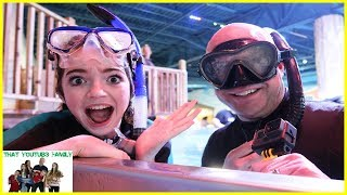 Swimming With STINGRAYS And SHARKS! / That YouTub3 Family