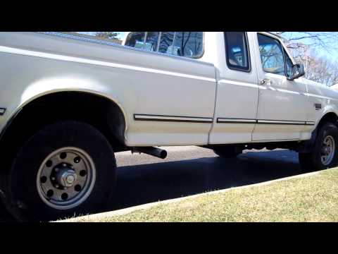 1994 F250 7.3 Idi Turbo Diesel cold start