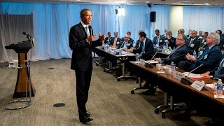 Obama Speaks to the Business Roundtable