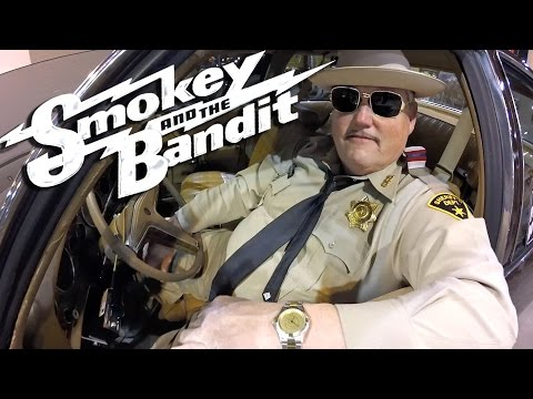 Smokey & The Bandit WAX Figure  Buford T Justice