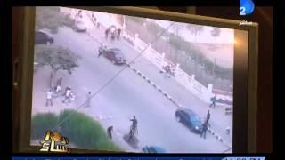 برنامج العاشرة مساء|لجنة تقصى الحقائق تعرض  صور من أسلحة الإخوان داخل اعتصام رابعة المسلح
