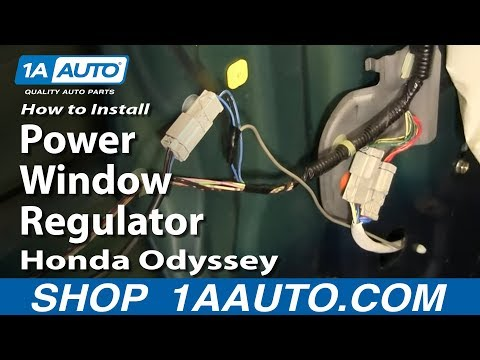 How to Install Replace Power Window Regulator Honda Odyssey 99-03 1AAuto.com